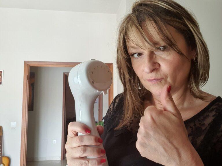 Ferro da stiro a vapore portatile photo review